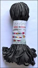 Scheepjes Mini Nooodle col 002 anthracite / anthrazit
