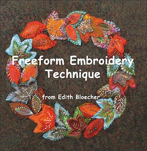 freeform embroidery technique