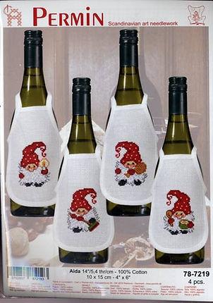 Tablier de bouteille / bottle apron / Flaschenschürzen