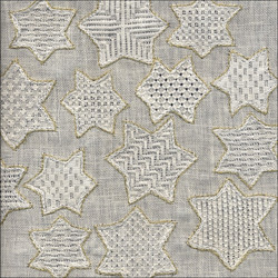 Stars in Pulled Thread