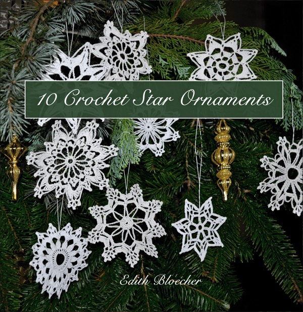 Booklet: Crochet Star Ornaments