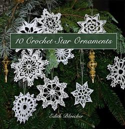 Booklet: Crochet Star Ornaments