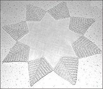 étoles crochet / crochet stars / Anhaekelsterne