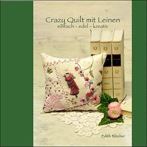 crazy quilt mit leinen