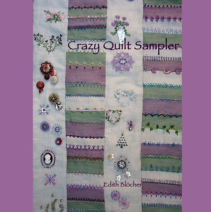 Crazy Quilt Sampler auf deutsch