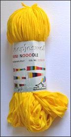 Scheepjes Mini Noodle col 645 jaune / yellow / gelb