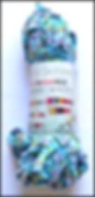 Scheepjes Mini Nooodle col 7746 turquoise multicolore