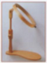 Sitzrahmen - Stickrahmen zum Draufsitzen