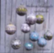 crocheter des balles du Noel/ crocheting Christmas balls / Weihnachtskugeln häkeln