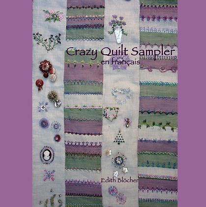 crazy quilt sampler en francais