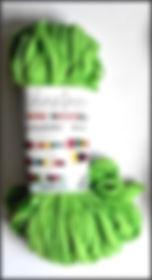 Scheepjes Mini Nooodle Col 525 vert / green / grün