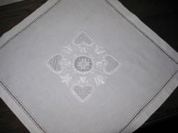 Decke mit Mittelmotiv in Schwälmer