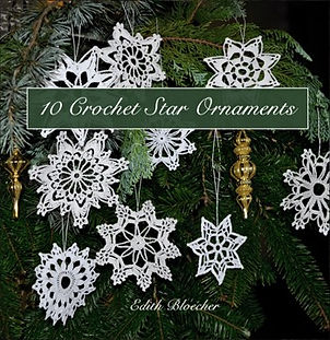 crochet star christmas ornaments