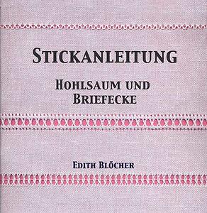 Buch Hohlsaum, Briefecke