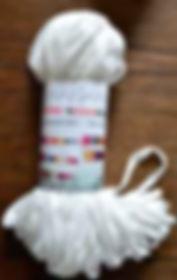 Scheepjes Mini Nooodle col 089 blanche antique / antique blanc / cremeweiß