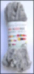 Scheepjes Mini Noodle col 006 gris clair / light grey / hellgrau