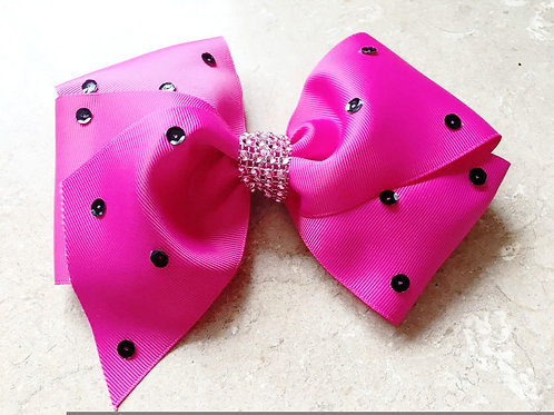 LARGE - Pink Hair Bow