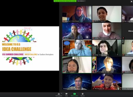 Estudiantes de Valdivia participaron del Primer Desafío Internacional Summer (Winter) Challenge