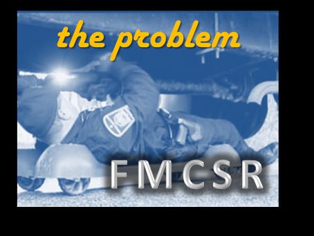 FMCSR Week 1: The Problem