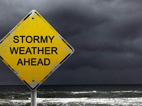 Inclement Weather Ahead