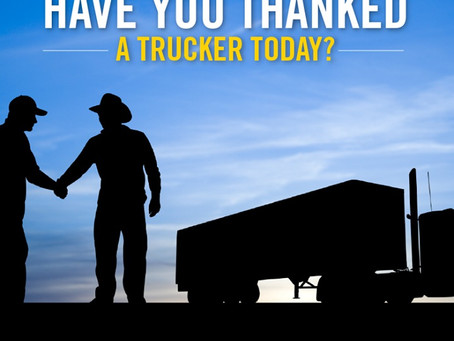 An Ode to the Truck Driver