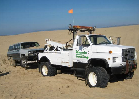 Beach Towels & Tow Trucks