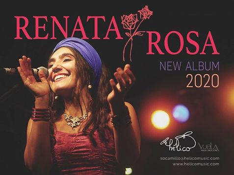 Renata Rosa new album 2020