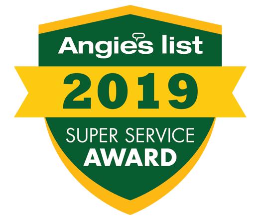 2019 Angie's List Super Service Award Wi