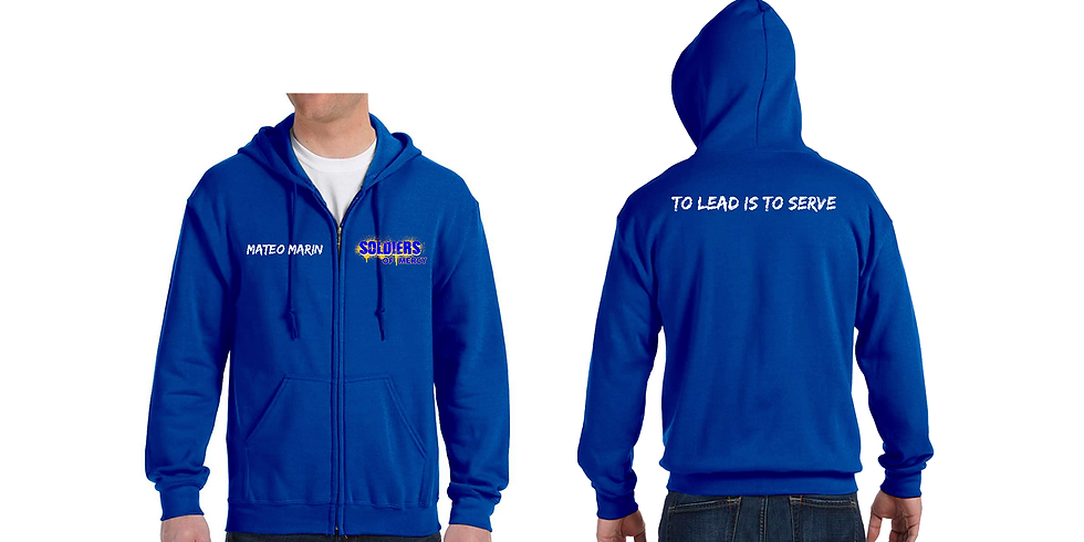 S.O.M. HOODIE - NP PRICING With ZIPPER