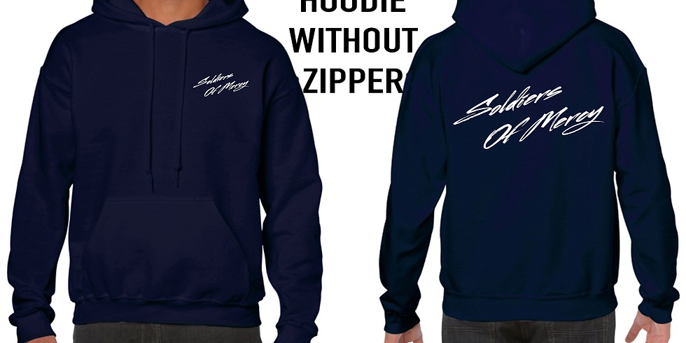 S.O.M. HOODIE Without ZIPPER