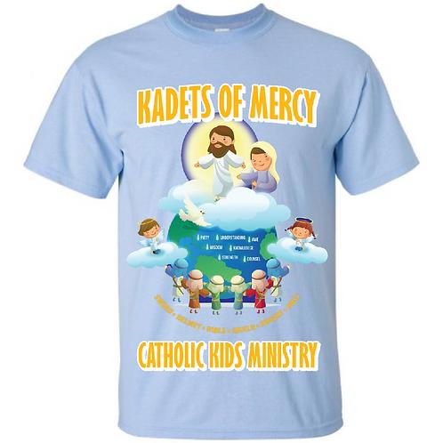 Kadets Of Mercy Adult T-Shirt BabyBlue