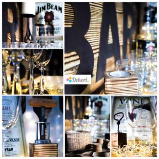 Whisky bar, rum bar, wine bar