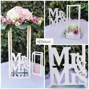 Svadba - stojan na kvety