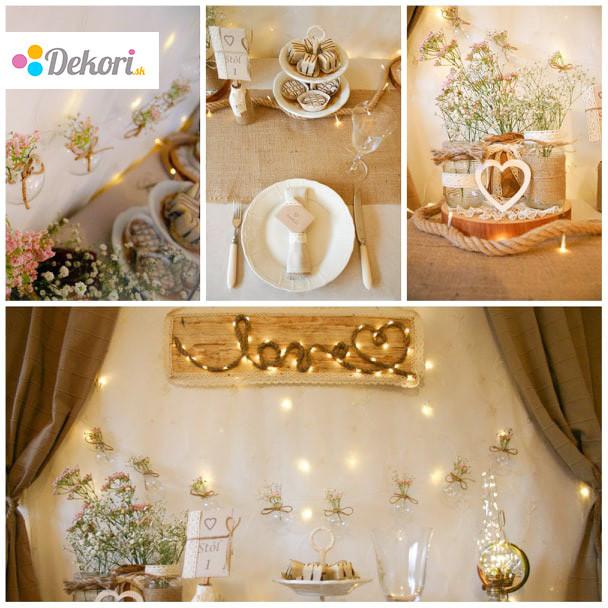 Rustikálna svadba