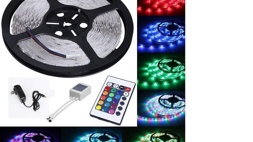 LED Light Strip ,16ft , RGB,