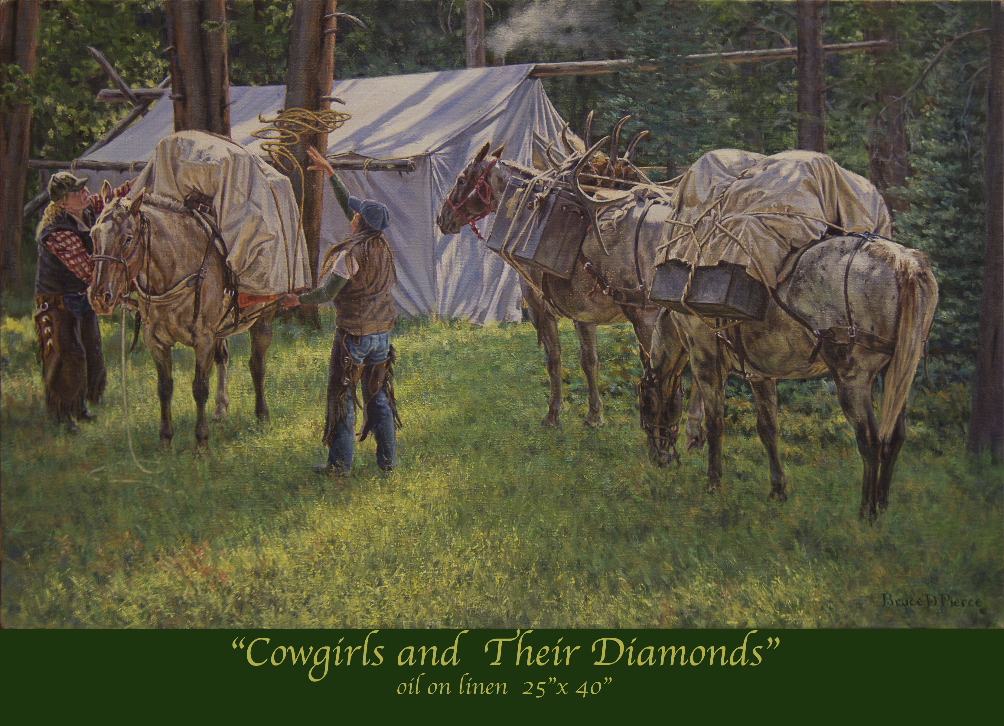 Cowgirls and Their Diamonds