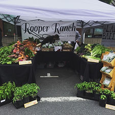 Rooper Ranch Farmers Market Stand Bend, Oregon