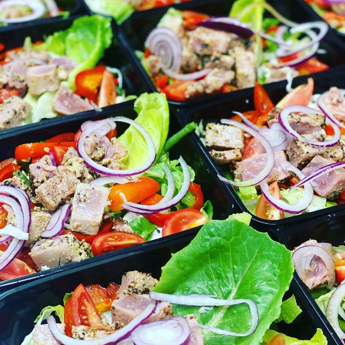 Salade steak de thon
