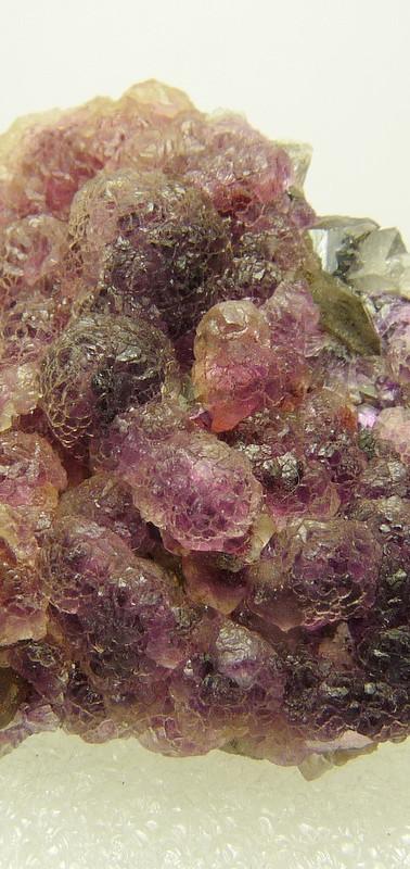 REF-23  Fluorite, quartz.  SOLD