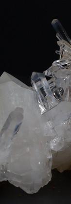 REF36   CLEAR ANGEL QUARTZ CRYSTAL -  SOLD