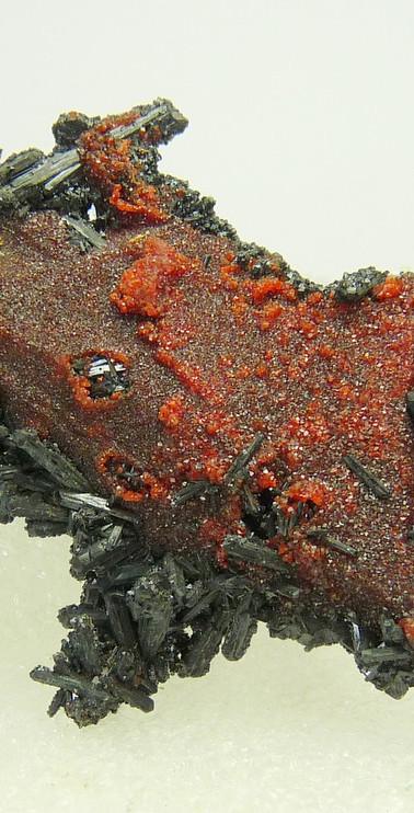 REF-25  Gaudefroyite, andradite garnets and ettringite   SOLD