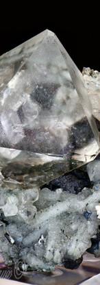 REF36   Fluorite Quartz   SOLD