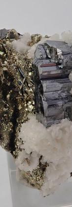 REF03-  Bournonite with Pyrite and Calcite-  350€