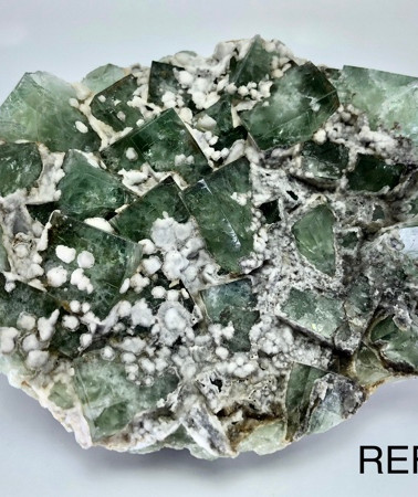 REF10 FLUORITE and CALCITE  RESERVED