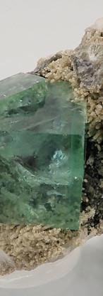 REF10- Fluorite with Quartz-  210€