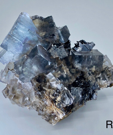 REF04 FLUORITE and GALENA on SPHALERITE 400€