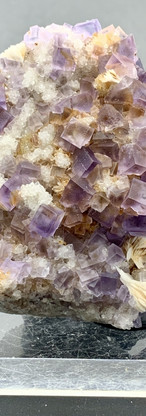 REF20   FLUORITE WITH BARITE AND QUARTZ CRYSTALS – 129€
