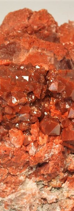 REF13  Red Quartz on Gypsum -  €55