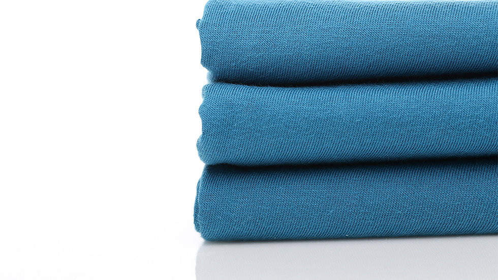 Cotton Combed 30s - Biru Toska