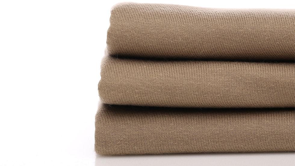 Cotton Combed 30s - Coklat Susu